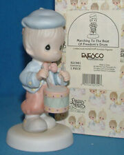 Precious Moments Marching to the beat 1995 Ensco Corporation 521981 mint condition in original box