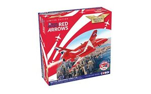RAF RED ARROWS HAWK aircraft Aerobatic team 1:72nd US Tour 2019 CORGI AA36017