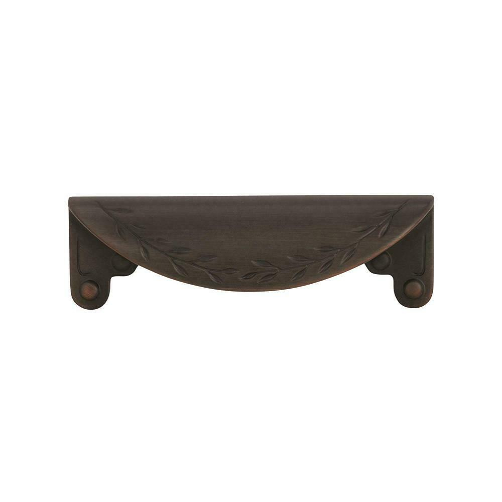 Amerock  Leaf Cup Pull BP1582-ORB Oil Rubbed Bronze Inspirations