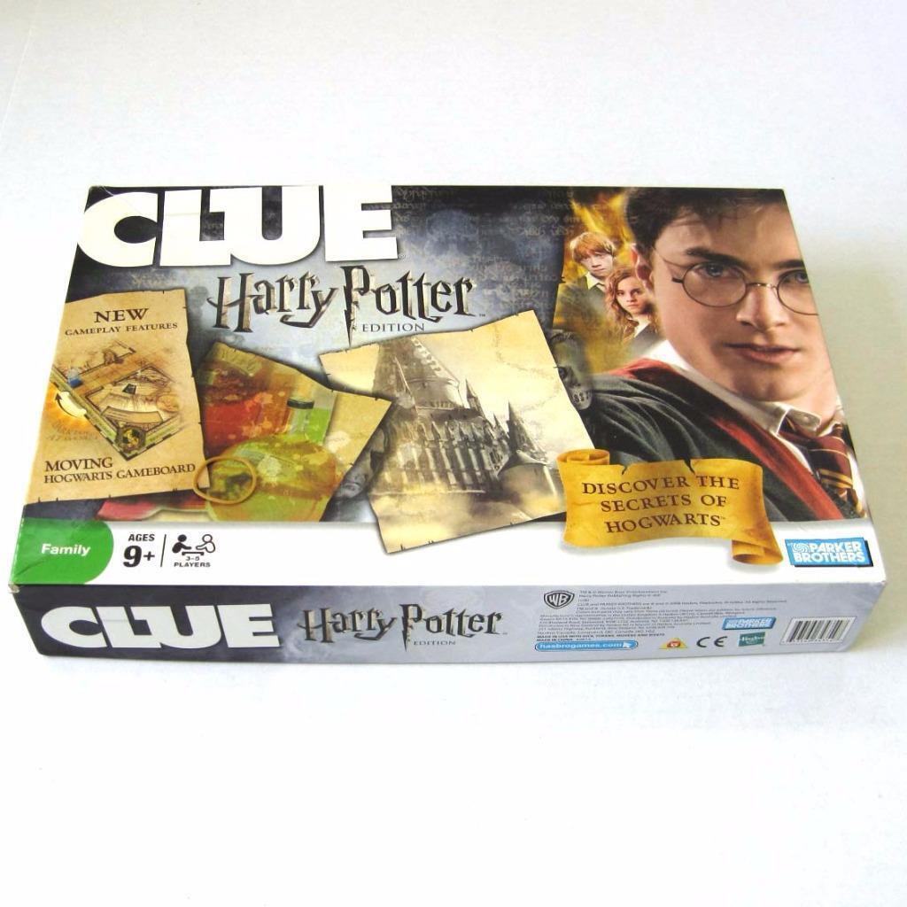 2008 Harry Potter Potter Potter Clue Game Complete Discover the Secrets of Hogwarts 06f263