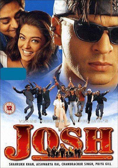 Josh - (2000) Shahrukh Khan, Aishwarya Rai -  hindi bollywood movie dvd