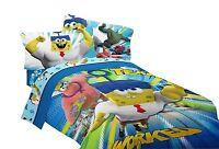 Nickelodeon Spongebob Sponge Out Of Water Movie Reversible Twin Comforter