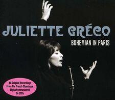 Juliette Gr co, Juliette Gréco, Juliette Greco - Bohemian in Paris [New CD] UK -