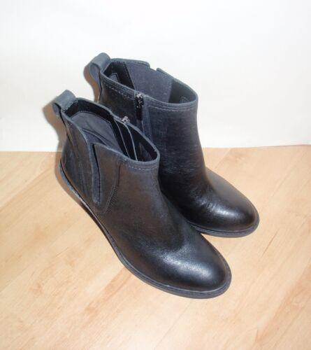 Nouveau Kea Clarks en cuir Blues Plusieurs tailles Femmes Bottines noir Z6RPrqZxw