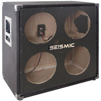 Seismic Audio - 410 Empty - 4x10 Bass Guitar Cabinet - No Woofers / Speakers on Sale