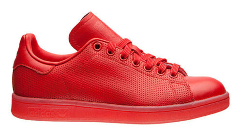 S80248 Adidas Taille Stan Baskets Rouge Originals Adicolor 5 Uk 9 Smith dfqBavv