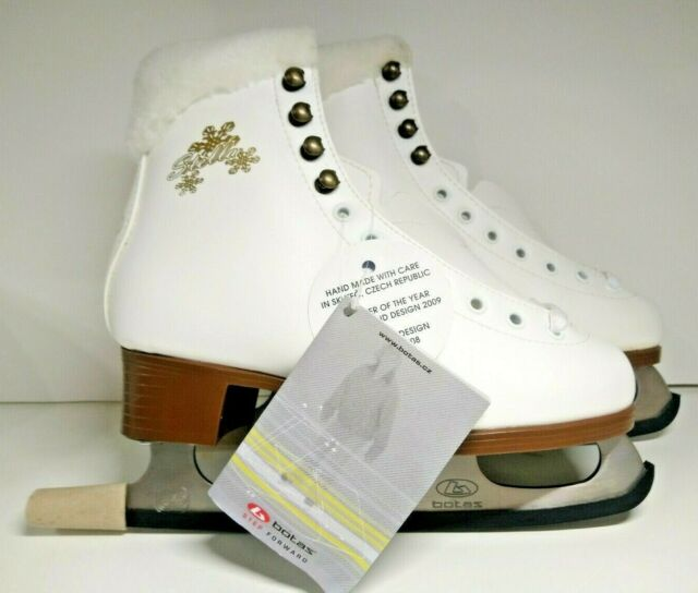 Leather BOTAS Figure Ice Skates for Women US Size 5 (EUR 36)