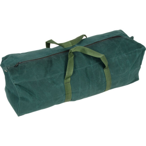 "30/"" HEAVY DUTY CANVAS TOOL BAG ZIPPED HODALL TOOL CADDY STORAGE BAG TB021"