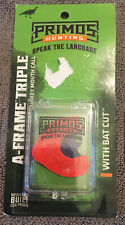 Details about  /3 Pack Primos A-Frame Triple with Bat Cut Turkey Mouth Diaphragm Call