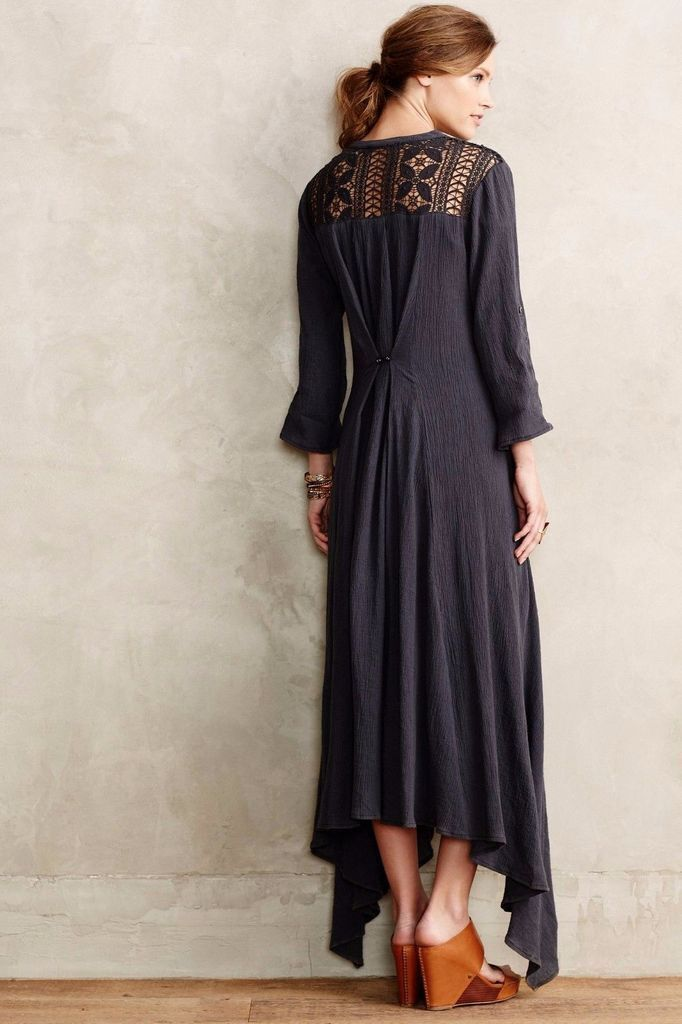 NIP Anthropologie Tindaya Maxi Dress Dress Dress by Gypsy05 Sz S Petite  158 a4e823