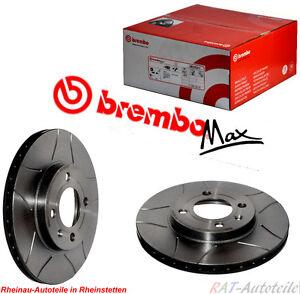 Bremsscheiben Brembo MAX 256 mm Vorne VW GOLF II 19E, 1G1 1.8 GTI 16V