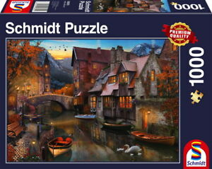 1000-Teile-Schmidt-Spiele-Puzzle-Heimat-am-Kanal-58355