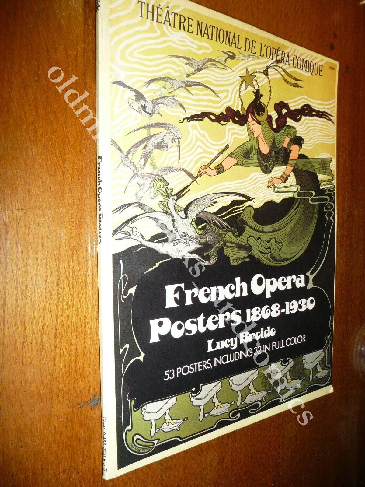 FRENCH OPERA POSTERS 1868-1930 53 POSTER DI MANIFESTI DEL TEATRO OPERA FRANCESE