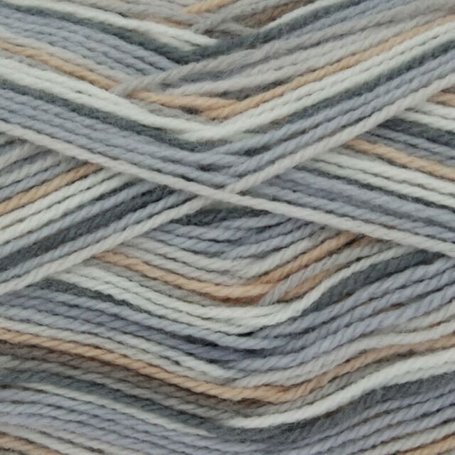 Knitting Yarn Various Colours BIG VALUE BABY PRINT 4PLY Wool by KING COLE