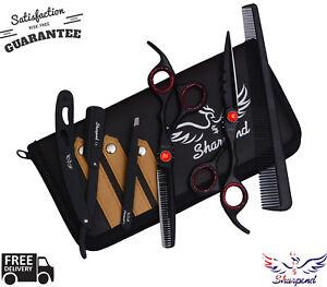 Professional-Barber-Hair-Cutting-Thinning-Scissors-Shears-Set-Hairdressing-Salon