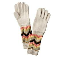Missoni For Target Girls Kids Zigzag 2 Pairs Gloves Set Colore Passione Xs/s 3-5