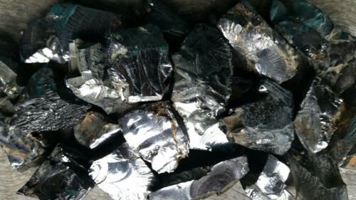 100 grams of Elite Shungite Rough 57 grams each approximately 17 pieces