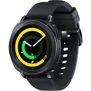 Samsung-R600-Gear-Sport-Smartwatch-black-Uhr-Fitnesstracker-GPS-MP3
