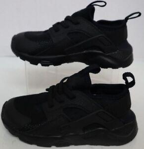f59c1015fbe Nike Huarache Run Ultra TD Black Black 859594-004 Toddler Size s
