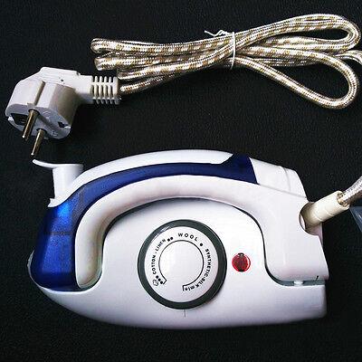 Portable Travel Iron Steam Electric Mini Sunbeam Compact Iron Handle Dry XC