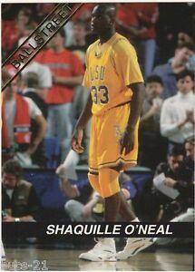 Image Is Loading 1992 Shaquille O 039 Neal LSU Orlando Magic