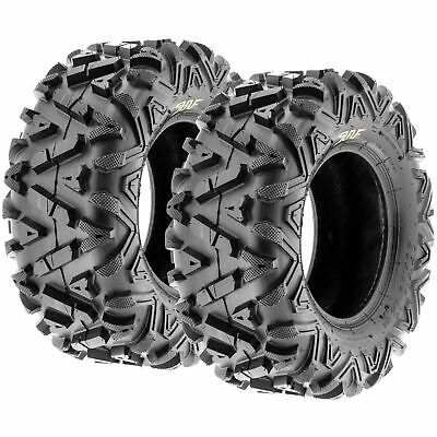 Set of 2 SunF  ATV UTV Tires 26x11-14 26x11x14 All Terrain 6 PR A033  Power I