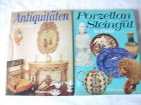 Porzellan und Steingut ; Antiquitäten;2 Bücher ; Südwest Verlag