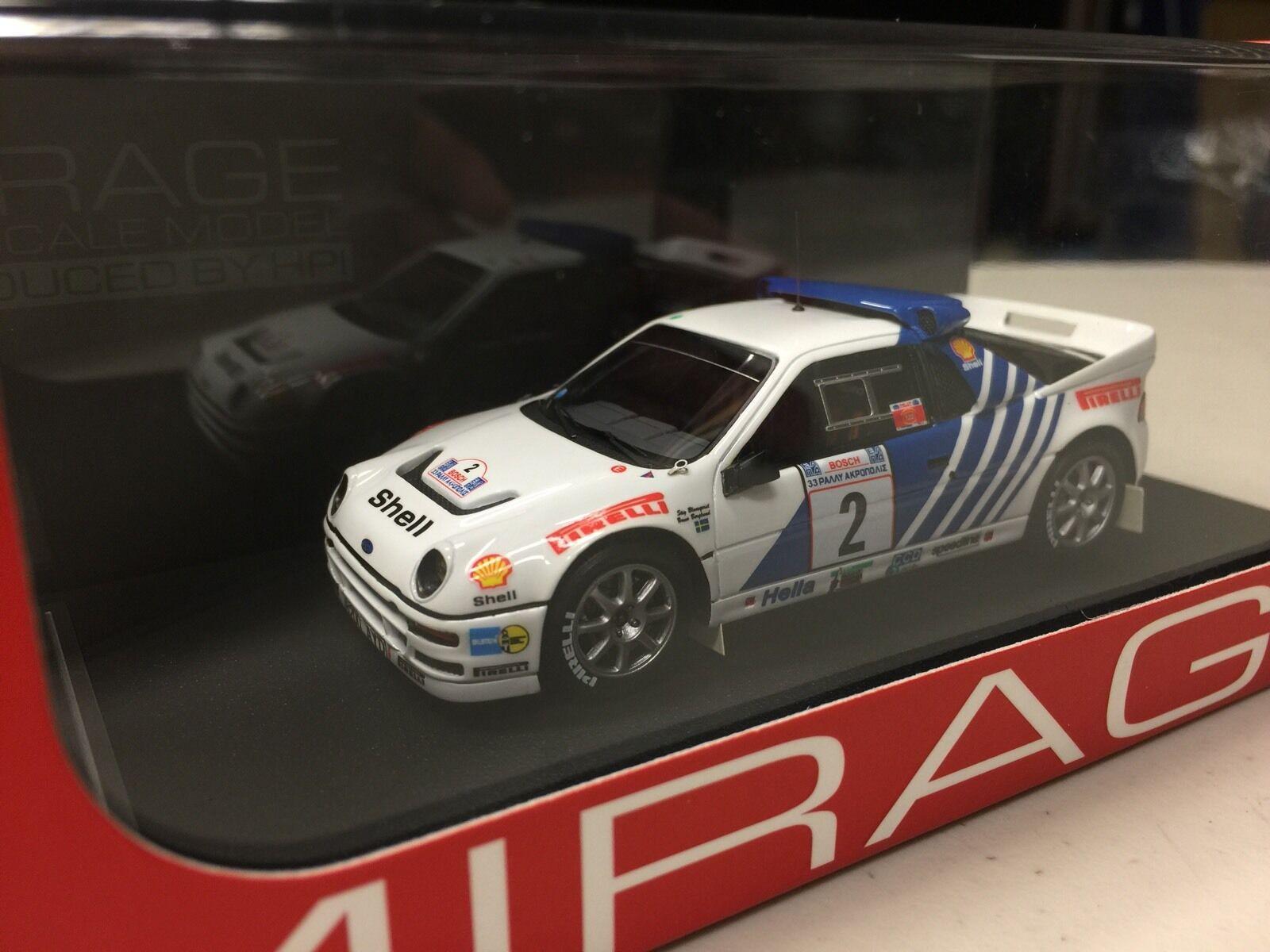 tienda de bajo costo     último    Acrópolis Acrópolis Acrópolis Rally Hpi  8344 Ford RS200 ( 2) 1986 1 43 Modelo Pirelli WRC  punto de venta de la marca