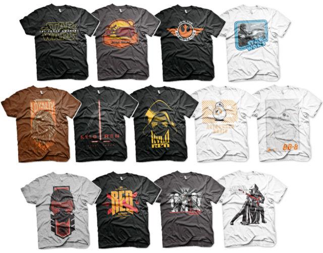 Star Wars 7 Episode VII Erwachen der Macht The Force Awakens T-Shirt Männer Men