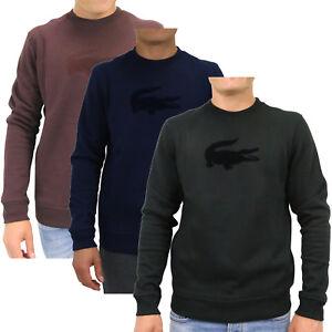 Das Bild wird geladen Lacoste-Shirt-Sweatshirt-Pullover-Herren-SH9258 71c2bd2295