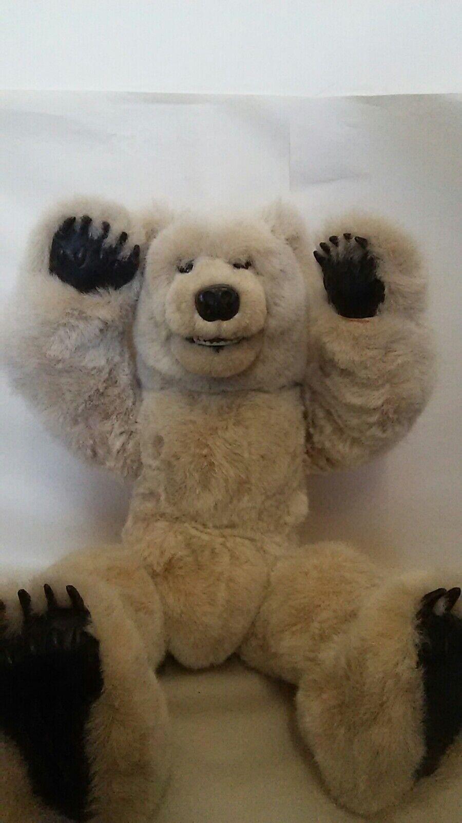 Stuffed animal Pola BEAVER VALLEY Young Pola animal Bear 18/100 1989 Kaylee Nilan f9d387