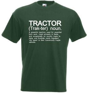 Mens Funny T-Shirt John Deere MF Massey Ferguson Awesome Farmer