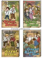 The Great Brain,more Adventures, Is Back & Little Brain (pb) John Fitzgerald 4bk