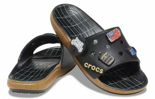 Luke Combs X Crocs Classic Bootlegger Slide Size M11 IN HAND!! BRAND NEW!!