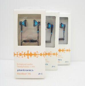 3 Pièces Plantronics Backbeat 116 Bleu Casque Intra-Auriculaires en pour Ipod RM1gFHhW-09154236-517683329