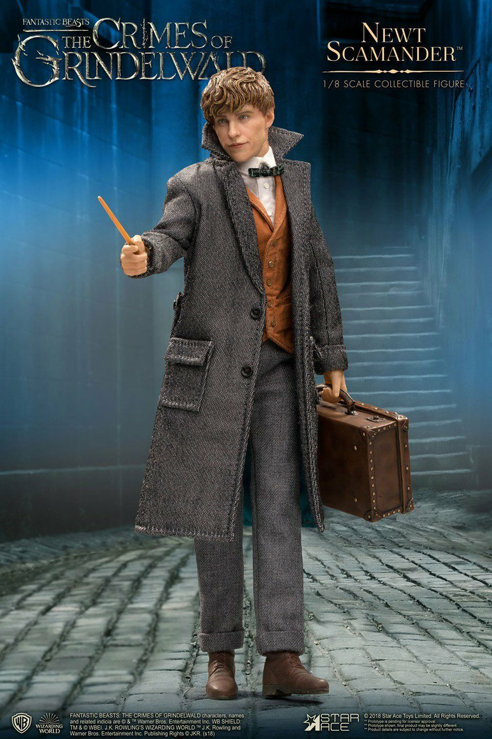 PREORDINE Fantastic Beasts 2 Real Master Series 1/8 Nuovot Scamander