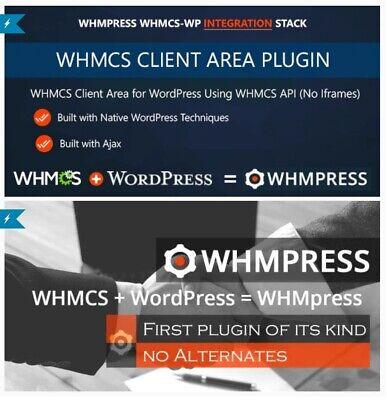 WHMpress v5.2 WHMCS WordPress Integration WHMCS Client Area v3.3 FREE UPDATE