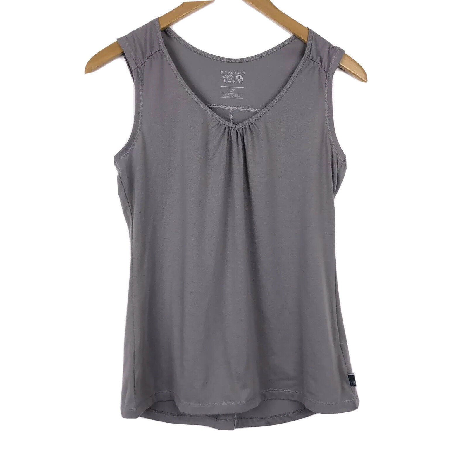 Mountain Hardwear Womens Size Small V Neck Thick Strap Outdoor Tank Top
