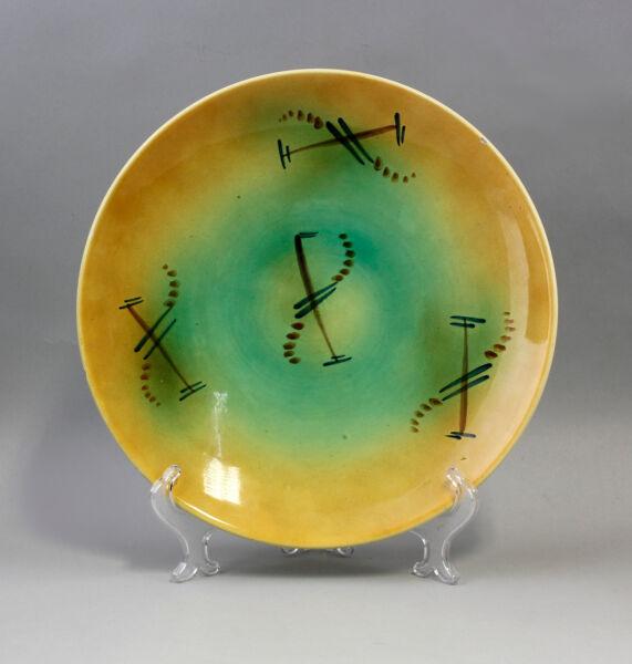 Coscienzioso 99845344 Ceramica Grande Piatto Schramberg Decorazione A Spruzzo