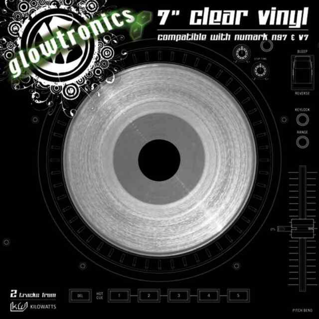 Glowtronics 7 Clear Vinyl Numark Ns7 V7 For Sale Online Ebay