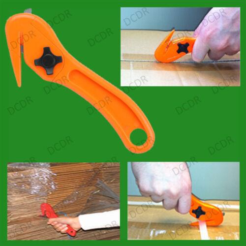 Strap Slicer Box Cutter Opener 4x Safety Knives Pallet Shrink Wrap Film Slitter