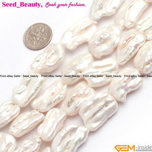 Biwa-Gemstone-Freshwater-Pearl-Loose-Beads-for-Jewelry-Making-Strand-15-034
