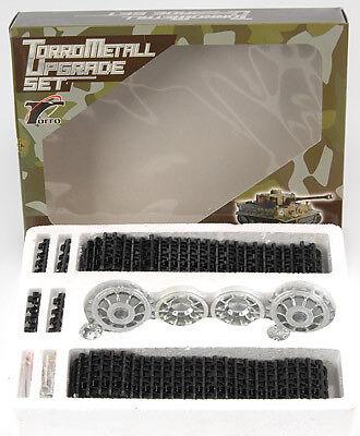 Cadenas de metal para tigres y panteras tanques 1 16 altnegro