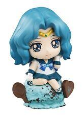 Sailor Moon 2'' Sailor Neptune Ice Cream Party Petit Chara Land Trading Figure