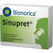 SINUPRET überzogene Tabletten   50 st   PZN 2493283