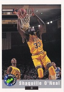 Image Is Loading Shaquille O 039 Neal LSU 1992 Classic Draft