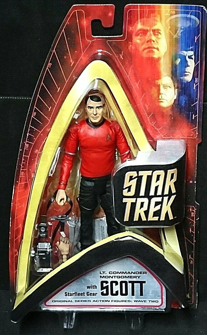 Star Trek Original Series Wave Two LT. COMMANDER SCOTT Art Asylum James Doohan