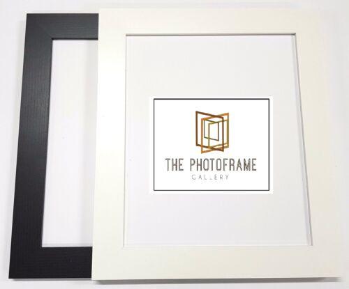 40 mm Large Plat Photo Cadre Photo Affiche Cadre toutes tailles Square panoramique NEUF