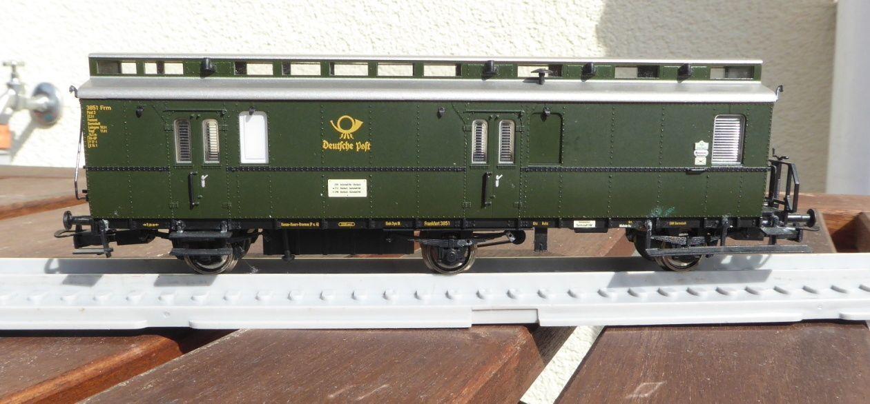 Electrotren 006307 H0-Bahnpostwagen Der Deutsche Posta Posta 3-b 12,5 Ep. 3a DB