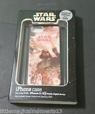 DISNEY PARKS STAR WARS DARTH VADER IPHONE 5/5S PHONE CASE LIMITED EDITION 500